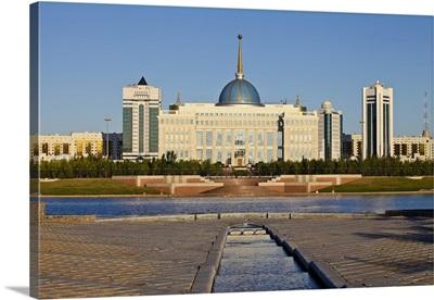 The Ak Orda Presidential Palace, Astana, Kazakhstan, Central Asia