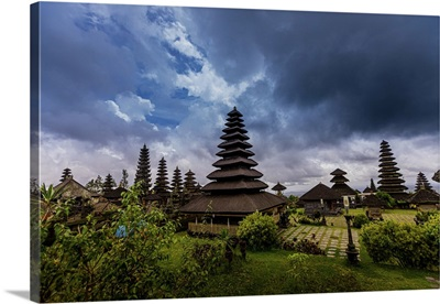 The Besakih Temple, Largest Temple Of Hindu Religion In Bali, Indonesia, Southeast Asia