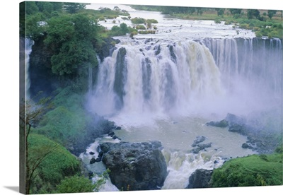 The Blue Nile Falls, near Lake Tana, Gondar region, Ethiopia, Africa