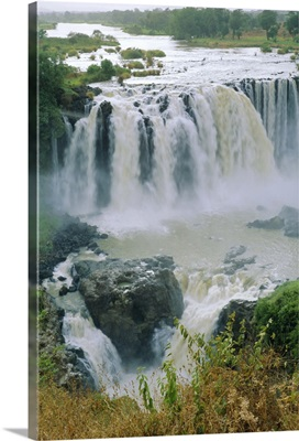 The Blue Nile, waterfalls, Abyssinian Highlands,, Ethiopia, Africa