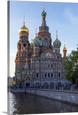 The Church on Spilled Blood, on the Kanal Griboedova, St. Petersburg, Russia