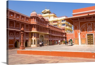 The City Palace in the heart of the old city, Jaipur, Rajasthan, India