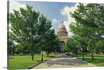The Great State Capitol, taller than the Capitol in Washington, Austin, Texas