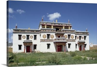 The Guest Palace, the sole building, Erdeni Dzu Monastery, Karakorum, Mongolia, Asia