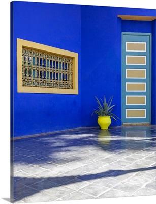 The Majorelle Gardens, Marrakech, Morocco, Africa