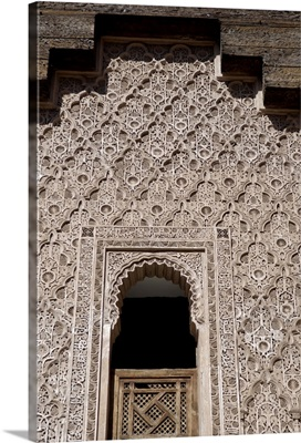The Medersa Ben Youssef, the largest in Morocco, Marrakesh, Morroco, Africa