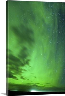 The Northern Lights, Jokulsarlon, South Iceland, Polar Regions