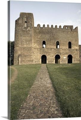 The Palace of Iyasu I, inside the the Royal Enclosure, Fasil Ghebbi, Ethiopia, Africa