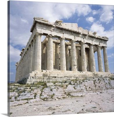 The Parthenon, Acropolis, UNESCO World Heritage Site, Athens, Greece, Europe
