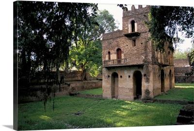The Pavilion of Delight built for King Fasilidas, Gondar, Ethiopia, Africa