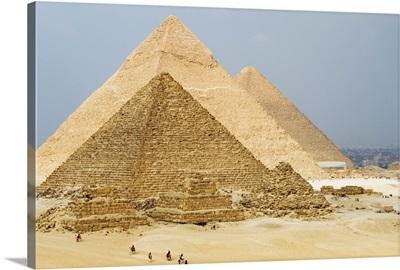 The Pyramids of Giza, Giza, near Cairo, Egypt, North Africa, Africa