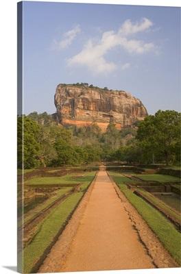 The rock fortress of Sigiriya (Lion Rock), Sri Lanka