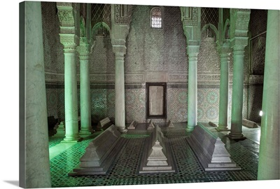 The Saadian Tombs, Marrakech, Morocco, Africa