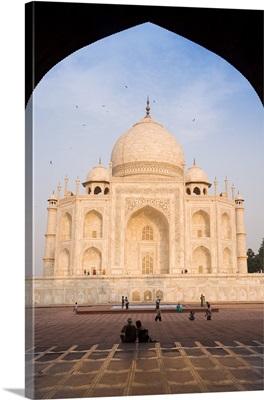 The Taj Mahal, Agra, Uttar Pradesh, India