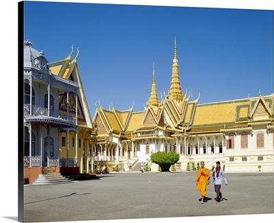 Throne Hall, Royal Palace, Phnom Penh, Cambodia, Indochina, Southeast Asia