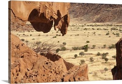 Twyfelfontein rock art site, Damaraland, southern Kaokoveld Wilderness, Namibia