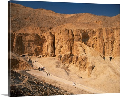Valley of the Kings, Thebes, Egypt, Africa