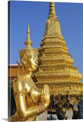 Wat Phra Kaeo, Grand Palace, Bangkok, Thailand
