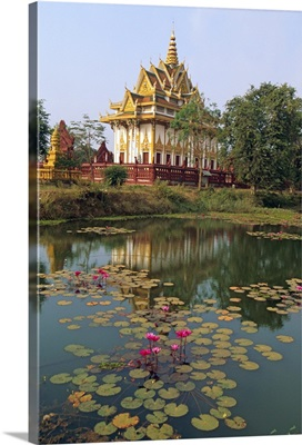 Wat Rakar, Rakar village, Battambang, Cambodia, Indochina