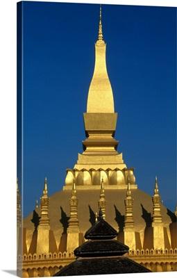 Wat That Luang, Vientiane, Laos, Indochina, Asia