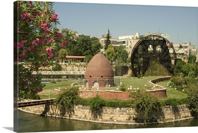 Water wheel on the Orontes River, Hama, Syria