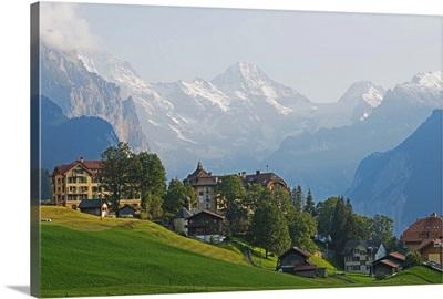 Wengen, Bernese Oberland, Swiss Alps, Switzerland