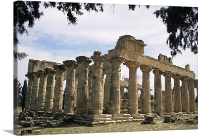 Zeus temple, Cyrene, Cyrenaica, Libya, North Africa, Africa