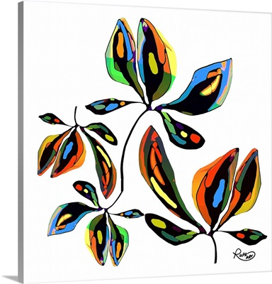 Abstract Leaves Two