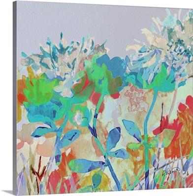 Digital Watercolor Garden