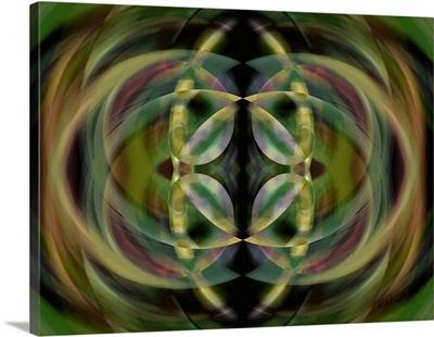 Double Twirl Green