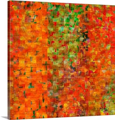 Emerging Shapes With Orange