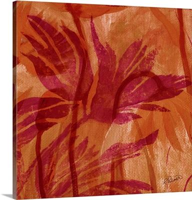 Fuchsia Foliage II