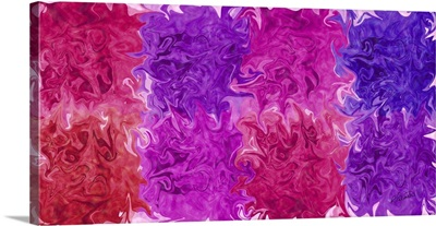 Magenta Purple Blend Long