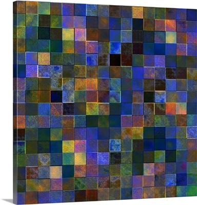 Mottled Cubes Dark