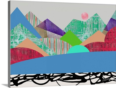 Patterned Mountains