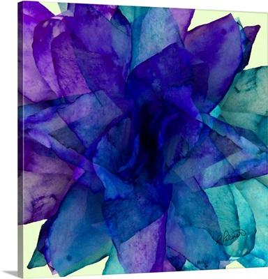 Purple Blue Teal Paper