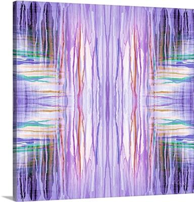Purple Drip Pattern I