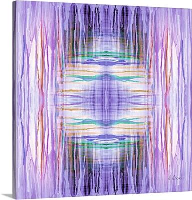 Purple Drip Pattern II