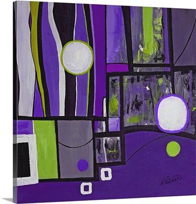 Purple Geo Two