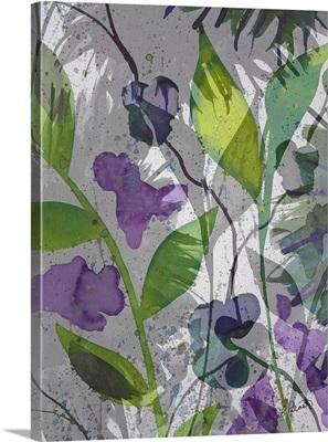 Purple Green Floral Merge