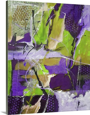 Rough And Tumble Lime Purple