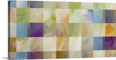 Soft Canvas Squares I