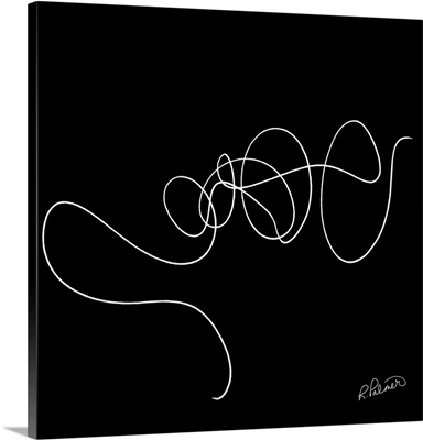 Squiggle Two Black