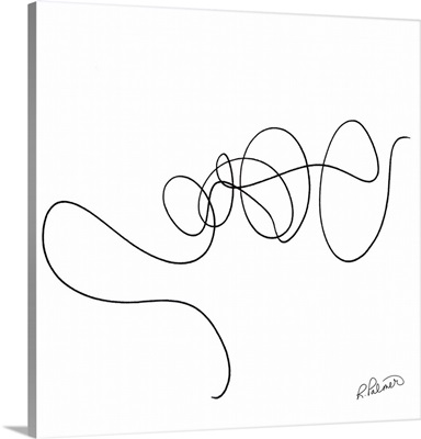 Squiggle Two White