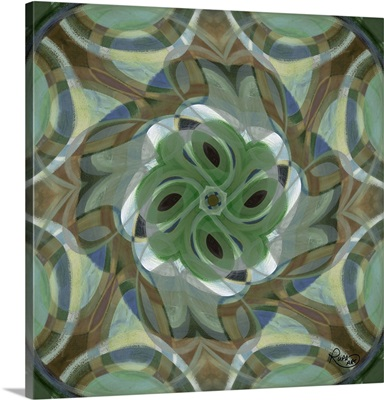 Swirling Green