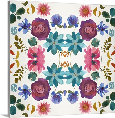 Watercolor Floral Pattern Two