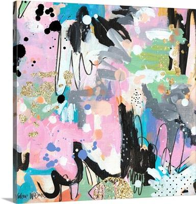 Abstract Polka Dot II