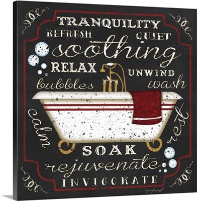 Bath I Black