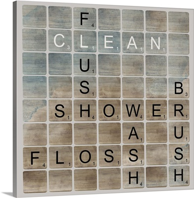 Bathroom Letters II