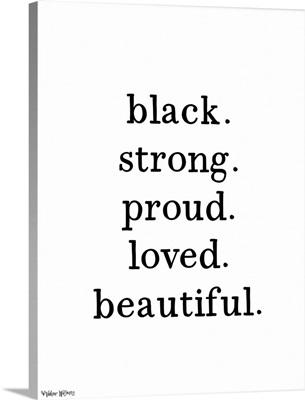 Black. Beautiful.